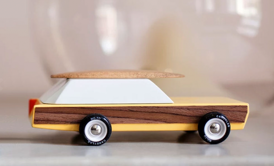 solid wood toy cars