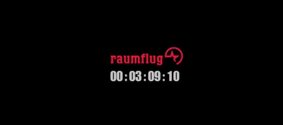 Raumflug commercial
