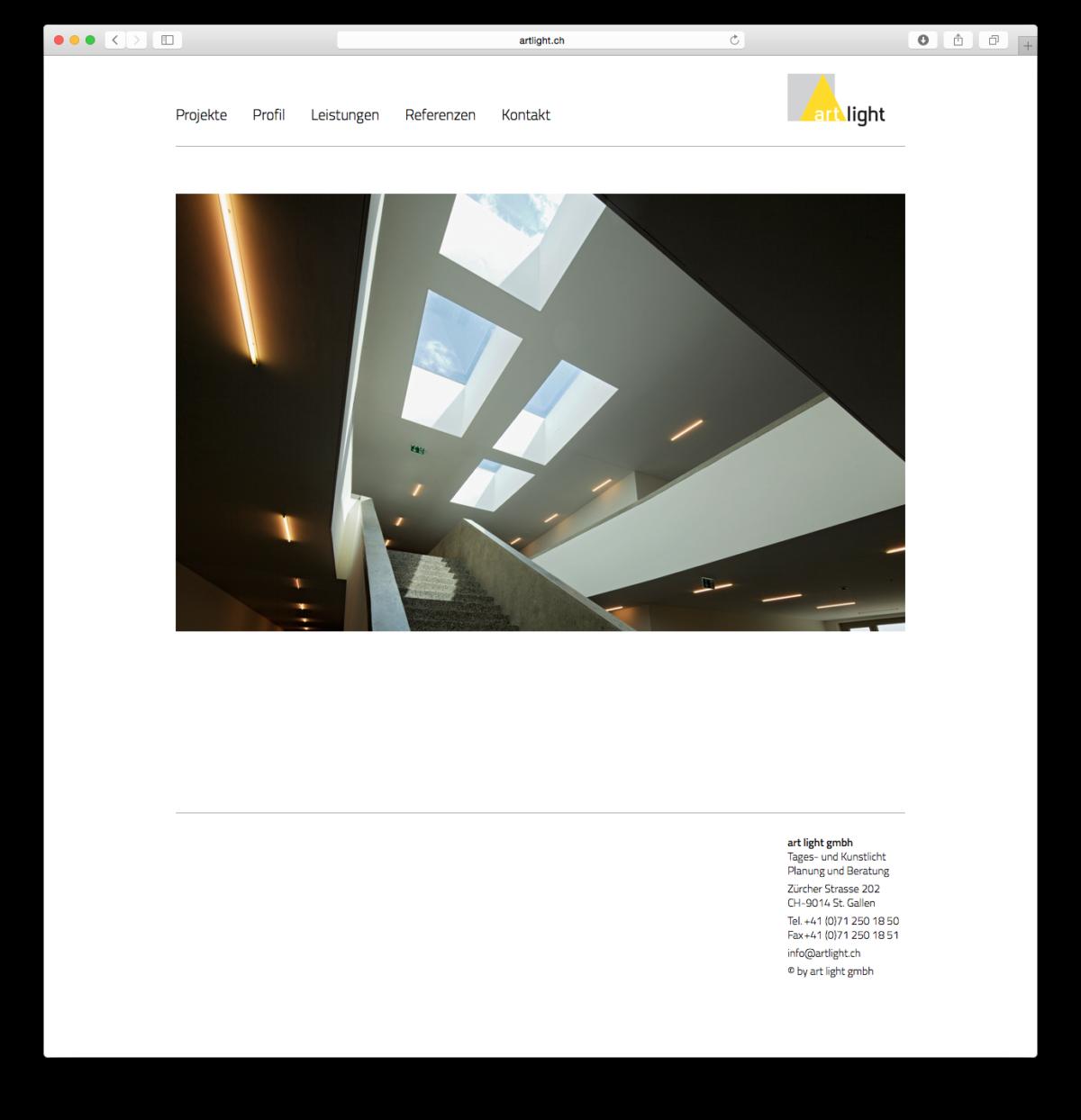 artlight.ch <br>im Auftrag von feinform grafik Andrea Chanteiro Gmünder