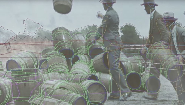 Ever wonder how they make old photos in color?