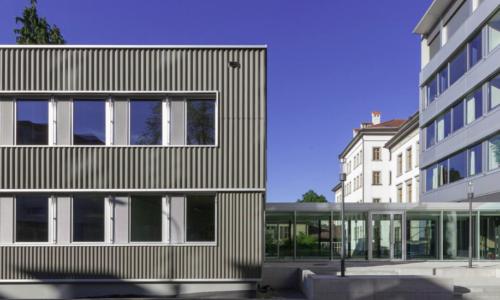 Erweiterungsbau Schulhaus Blumenau