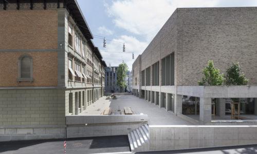 Schulanlage St. Leonhard St. Gallen