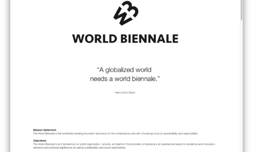 The World Biennale