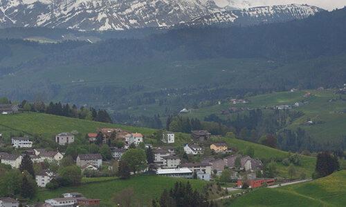 Vom Bodensee bis beinahe zum Säntis